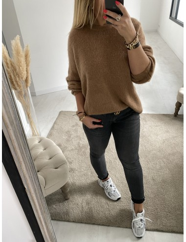Pull simple col rond